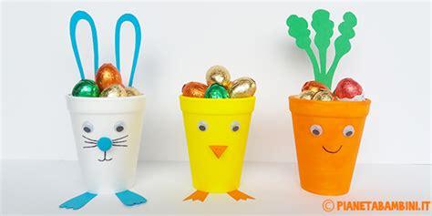 creazioni con bicchieri di plastica 3 divertenti decorazioni pasquali fai da te con i