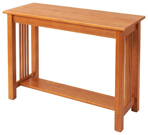 Mission Sofa Table Craftsman Console Tables By Mission Sofa Table