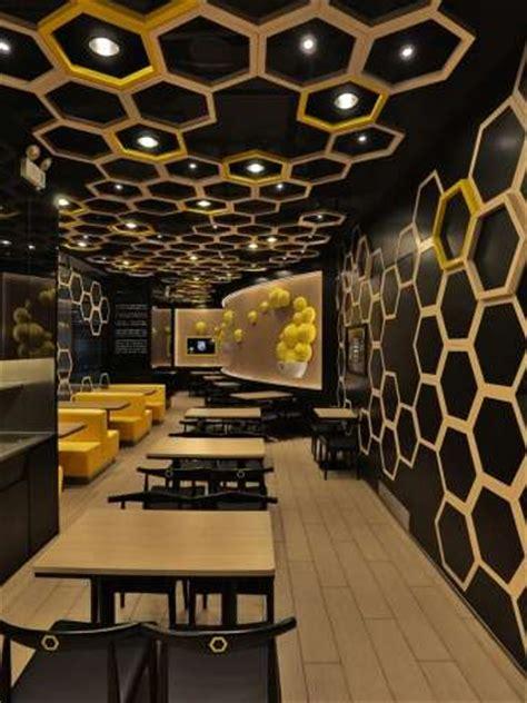 hexagonal honeycomb restaurants rice home   design