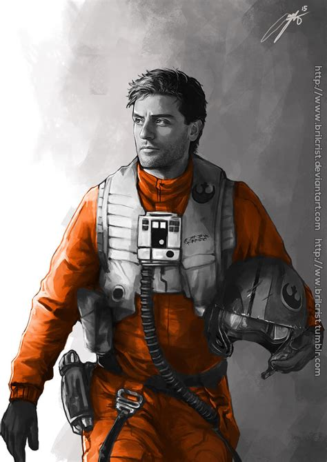 poe dameron by brilcrist on