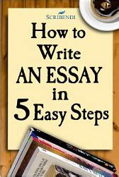 How To Write An Essay The 122 Way by An Essay Introduction Exle Scribendi