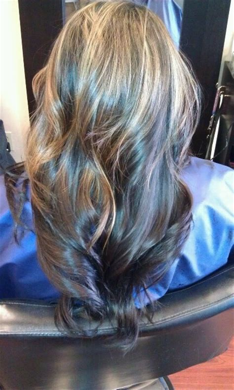 pics of partial highlights partial highlights hair pinterest