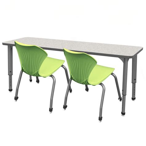 Marco Group Classroom Set 4 Apex Double Student Desks Classroom Student Desk