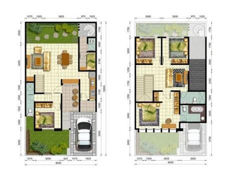 sketsa rumah  kamar tidur  lantai denah rumah living room upstairs house plans och house