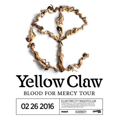 Zipper Yellow Claw 02 yellow claw tickets 02 26 16