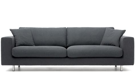 Modern Sofas And Chairs Wide Arm 2 Seat Sofa Hivemodern