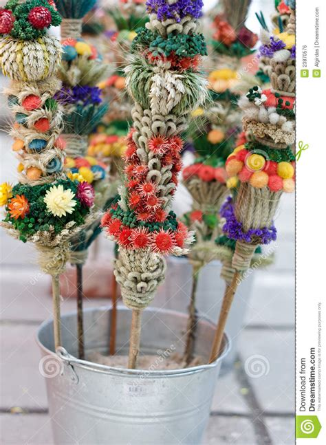easter flower bouquets royalty  stock image image