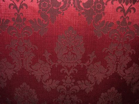 red damask upholstery fabric morello cherry red madagascar designer curtain brocade