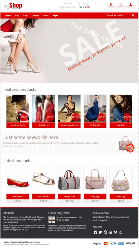 drupal theme at commerce 20 best responsive ecommerce drupal themes