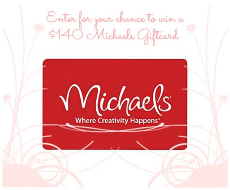 Michaels Craft Store Gift Card - michaels crafts gift card balance
