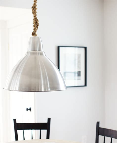 how to hang rope lights rope pendant light how to hang pendant lights 9