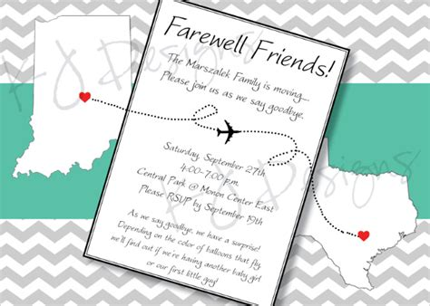 invitation card templates for farewell 9 amazing farewell invitation templates to