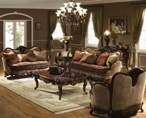 Traditional Living Room Furniture Living Room Set Traditional Living Room