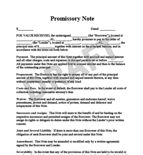 promissory note template florida how to make a promissory note anuvrat info