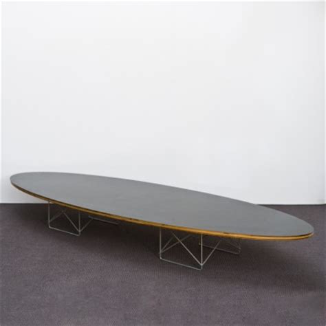 etr elliptical surfboard coffee table by charles and