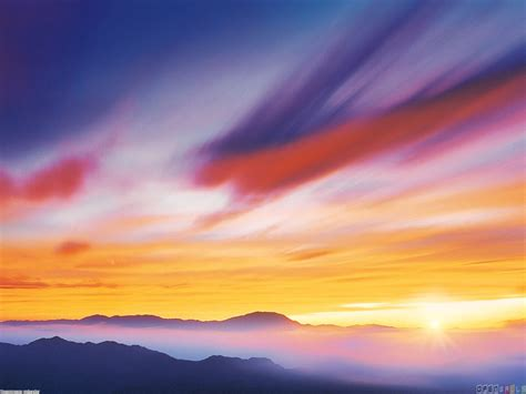 colorful sky wallpaper 14518 open walls