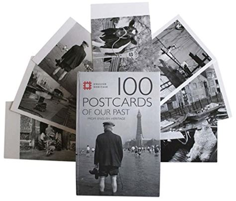 libro postcard from the past libro 100 postcards of our past from english heritage di