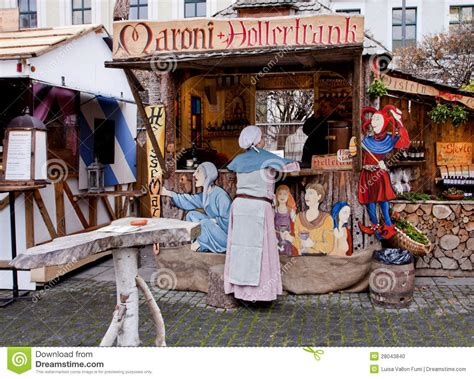 Delightful Christmas Decoration Outdoors #7: Medieval-christmas-market-munich-germany-28043840.jpg