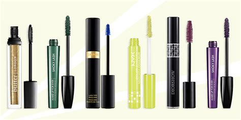 Colorful Mascaras Reviews by 10 Best Color Mascaras Of 2018 Pink Green And Blue