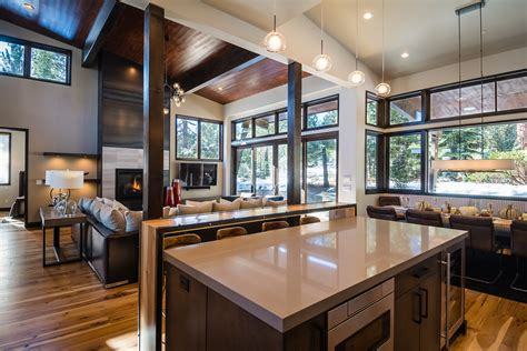 modern mountain home modern kitchen charlotte by featured tahoe home mountain modern at schaffer s mill