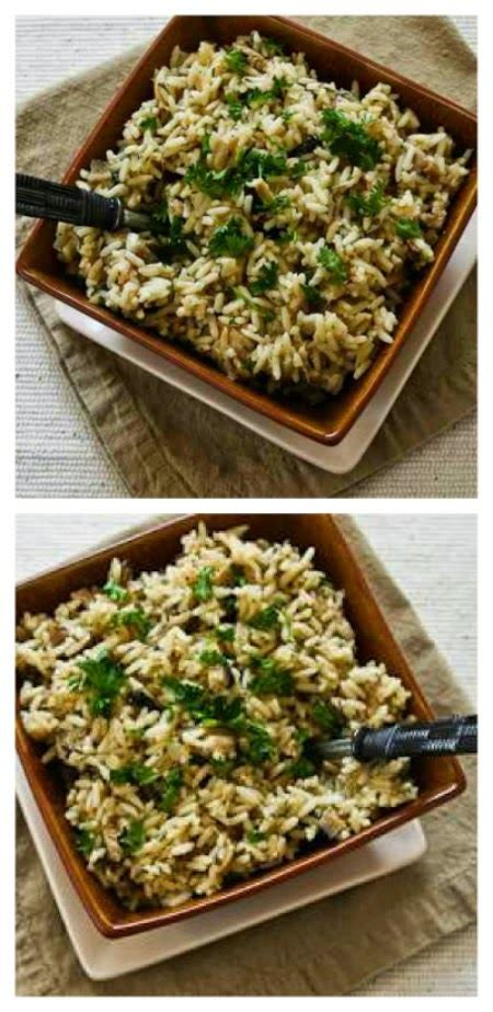Kalyn S Kitchen by Crockpot Rice With Dried Mushrooms Herbs And Parmesan