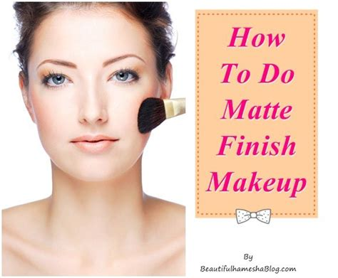 how to apply matte foundation matte finish makeup style guru fashion glitz