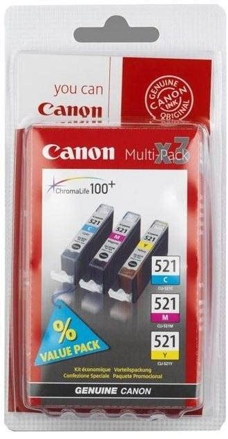 3 d fernseher 521 canon cli 521 multipack tintenpatrone alza de