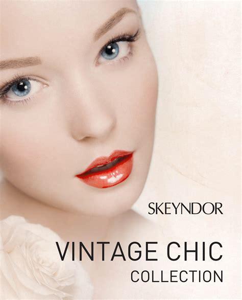 imagenes maquillaje retro colecci 243 n vintage chic de skeyndor