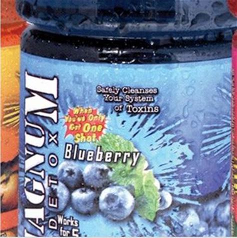 Blueberry Detox Drink by Magnum Detox Blueberry Detox Cleanse Heritage Smoke Shop