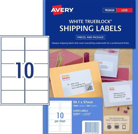 laser labels   sheet  white avery  box