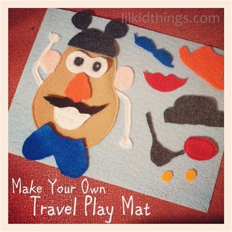 4 Letter Words Potato diy mr potato play mat just is a four letter word