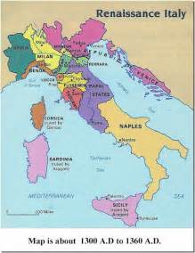 Map Of Renaissance Italy by Map Of Europe Renaissance