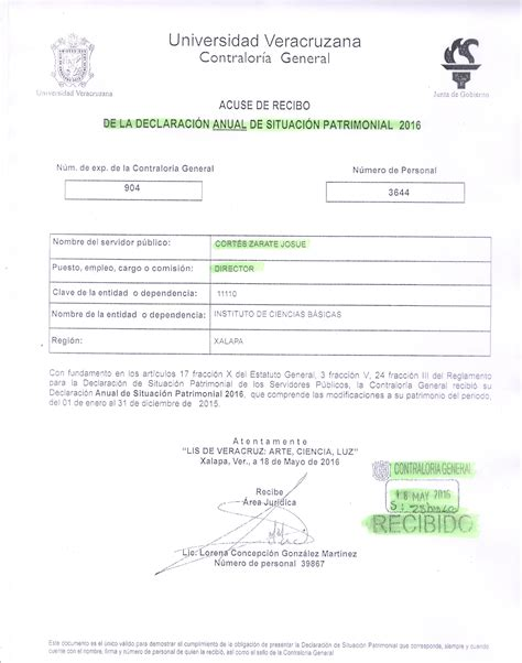requisitos para declaracin anual 2015 declaraci 243 n anual instituto de ciencias b 225 sicas