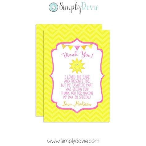 Twinkle Twinkle Little Star Wall Sticker our little sunshine birthday thank you cards