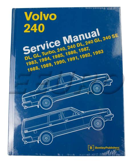 service repair manual free download 1993 volvo 240 navigation system volvo repair manual volvo 240 bentley l293 free shipping available