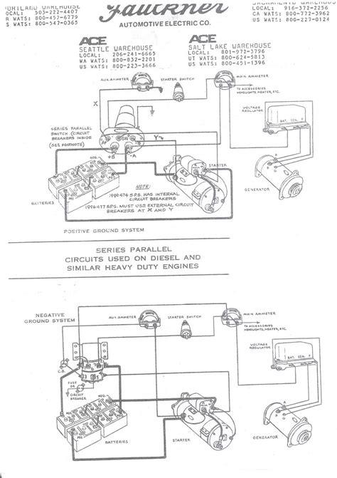 wiring schematic  series parallel switch antique classic mack info bigmacktruckscom