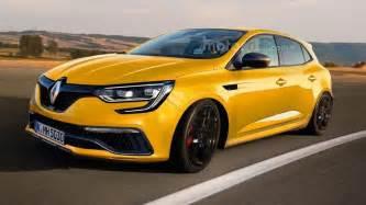 Renault Megane Rs 2017 Renault Megane Rs Render Sees Into The Future