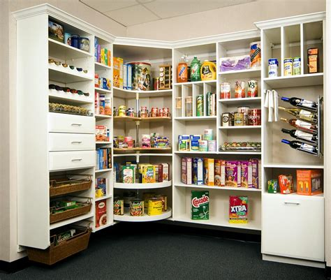 Pantry Layouts by Kitchen Pantry Ideas Creative Surfaces