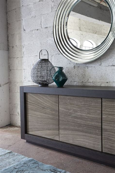 Sideboard With Doors Picasso Stone Door By Riflessi Buffet Table Ls Contemporary