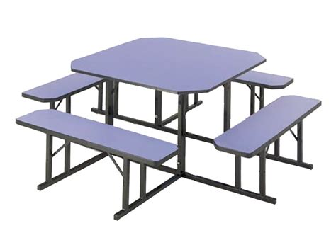 cafeteria bench barricks square cafeteria bench table 48 quot sq nbs 48