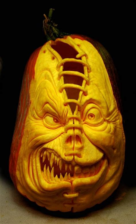 amazing jack o lantern pumpkin carvings pump is pumping