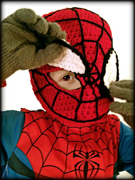 pattern spiderman mask spiderman crochet mask mellie blossom