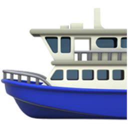 ferry boat emoji ferry emoji u 26f4