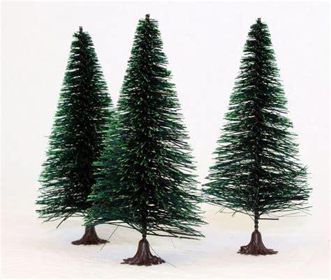 bottle brush christmas trees wholesale new today 4 quot bottle brush trees set of 3 on sale meyer imports