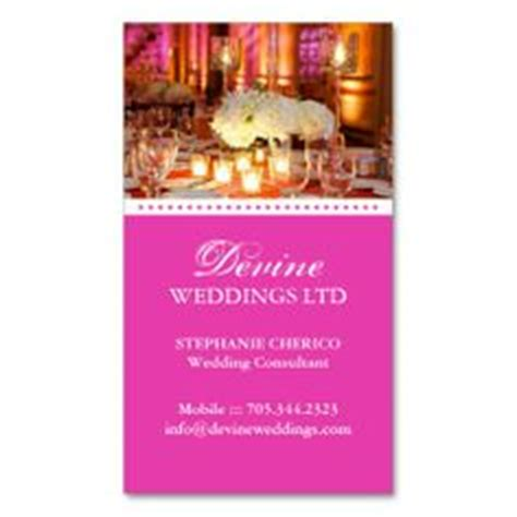 Wedding Decor Business Cards by 1000 Images About Business Cards On Wedding