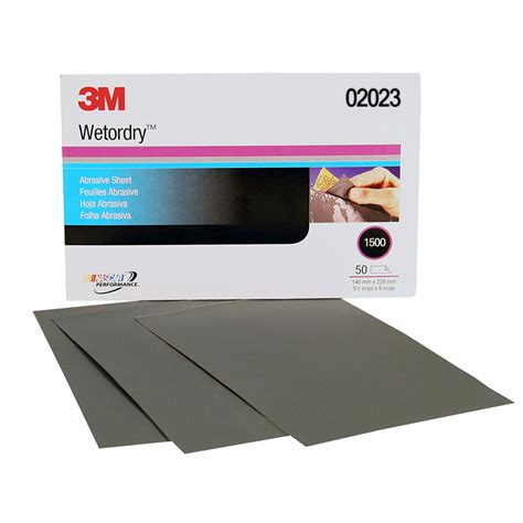 3m Buffer Microfine 3m 02023 1500 grit or sandpaper