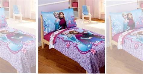 Frozen Toddler Bed Set Kohls Disney Frozen Elsa Amp Anna 4pc Toddler Bedding Set 32 98
