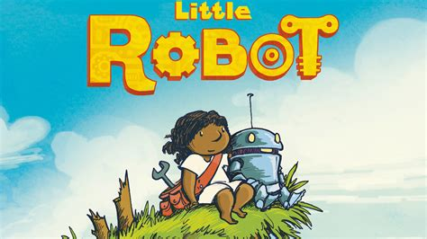 stories of robots young little robot comic exclusive shows why it s hard to be the only working robot in the junkyard
