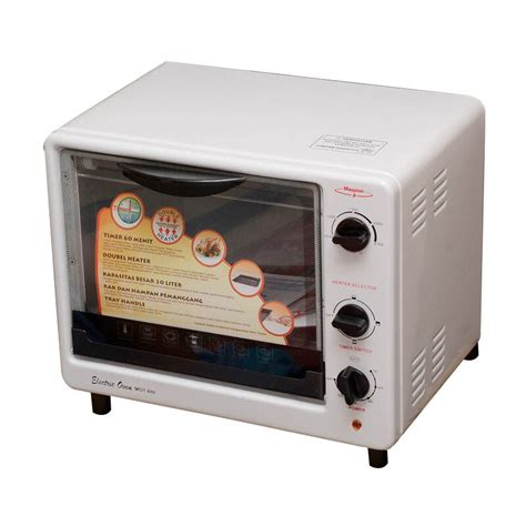 Toaster Maspion jual maspion oven toaster mot 600 jd id
