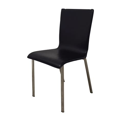 82 ikea ikea black with chrome dining chairs chairs